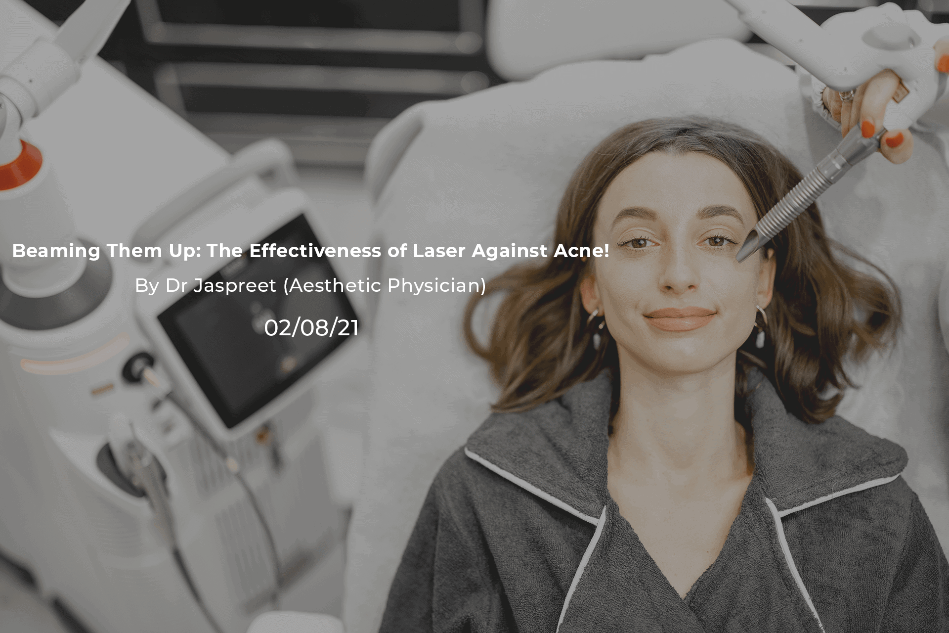 Beaming Them Up The Effectiveness of Laser Against Acne